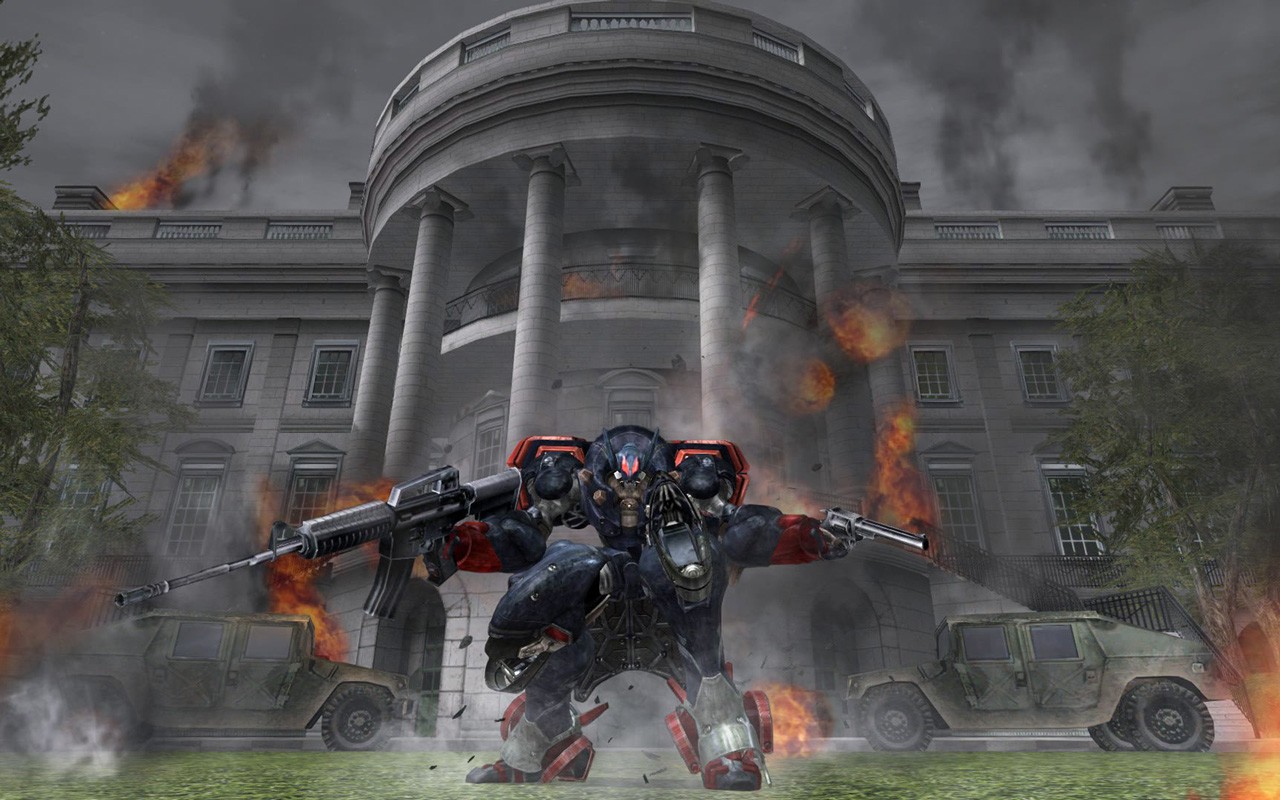Free Metal Wolf Chaos XD Wallpaper in 1280x800