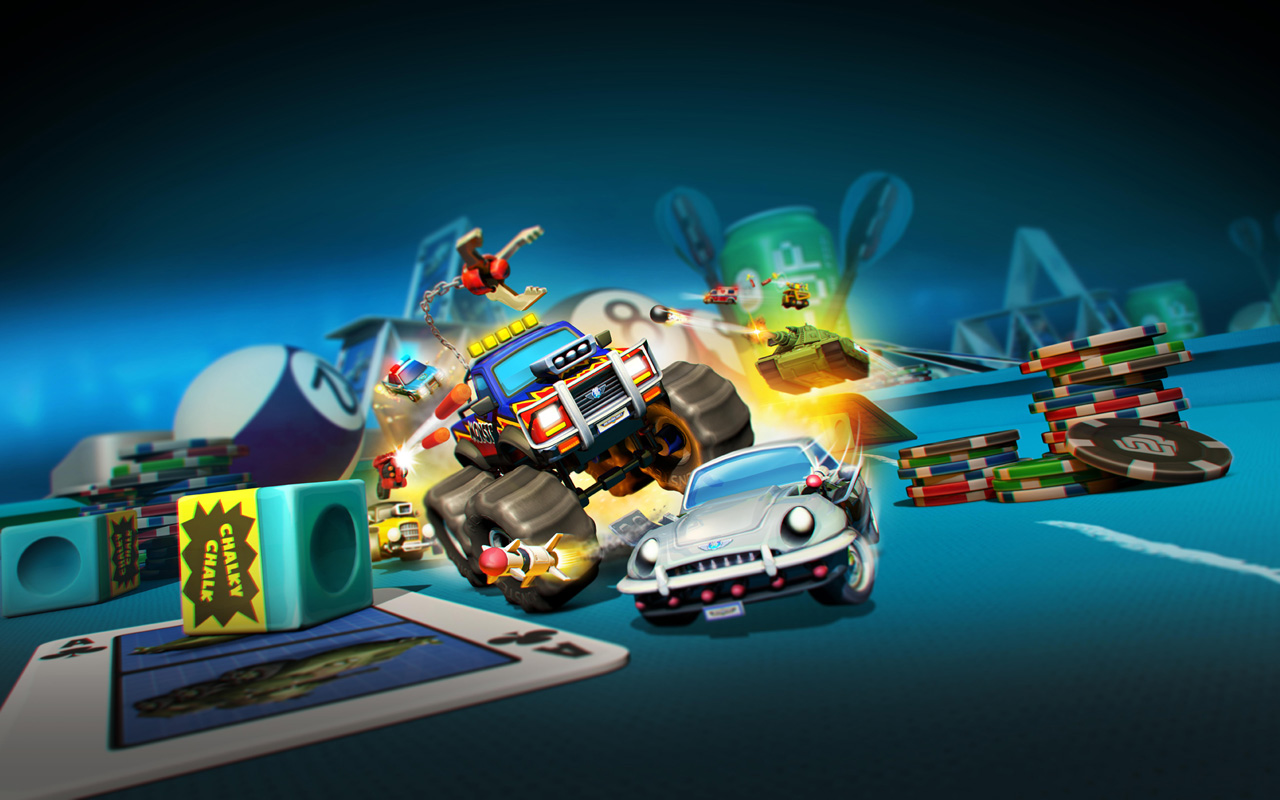 Free Micro Machines World Series Wallpaper in 1280x800