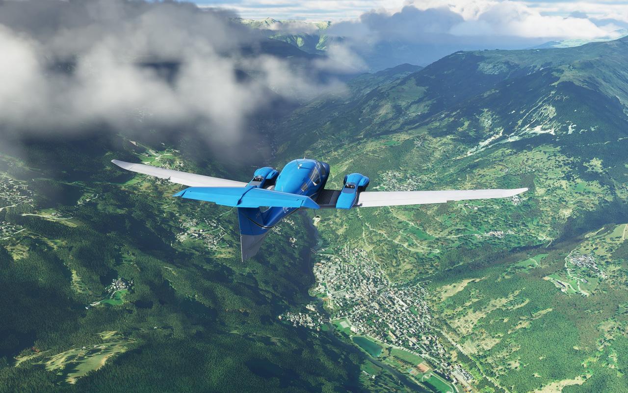 Microsoft Flight Simulator (2020) Wallpaper in 1280x800