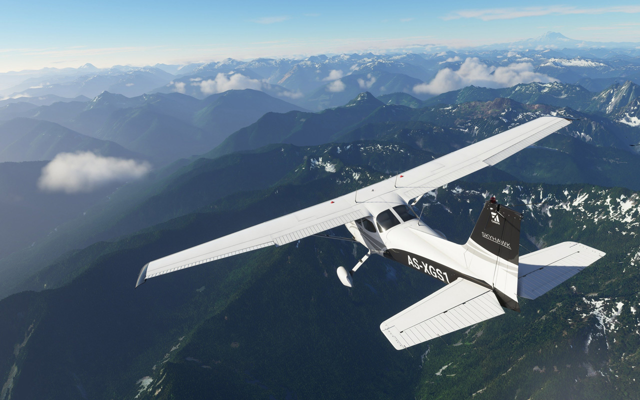 Free Microsoft Flight Simulator (2020) Wallpaper in 1280x800