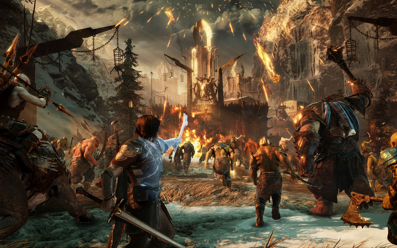Free Middle-earth: Shadow of War Wallpaper in 1280x800