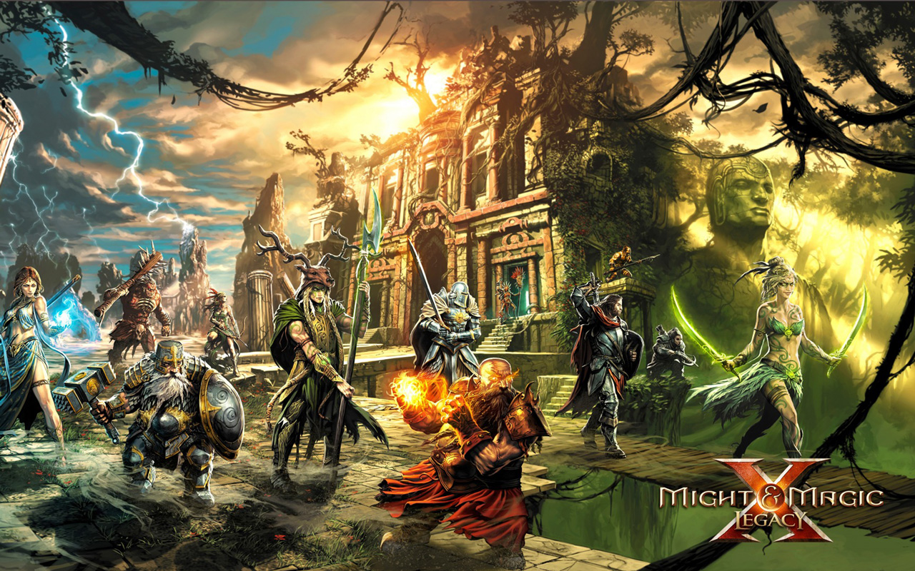 Free Might & Magic X: Legacy Wallpaper in 1280x800