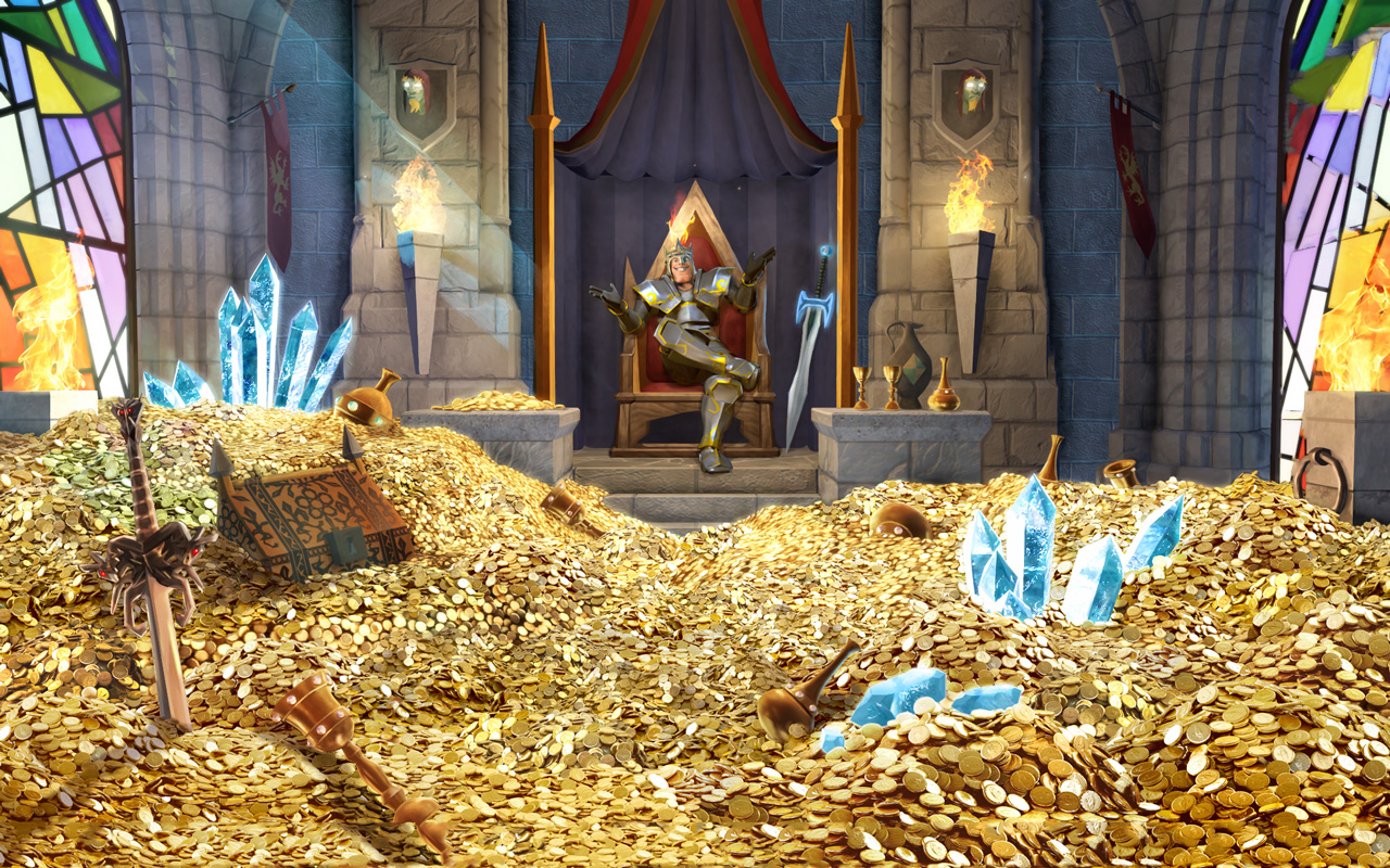 Free The Mighty Quest for Epic Loot Wallpaper in 1280x800