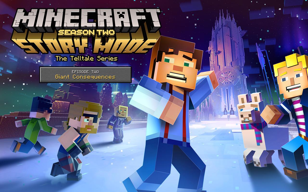 Free Minecraft: Story Mode Season 2 Wallpaper in 1280x800