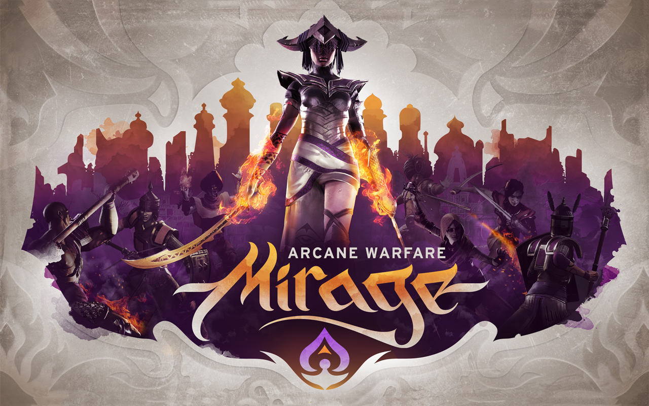 Free Mirage: Arcane Warfare Wallpaper in 1280x800