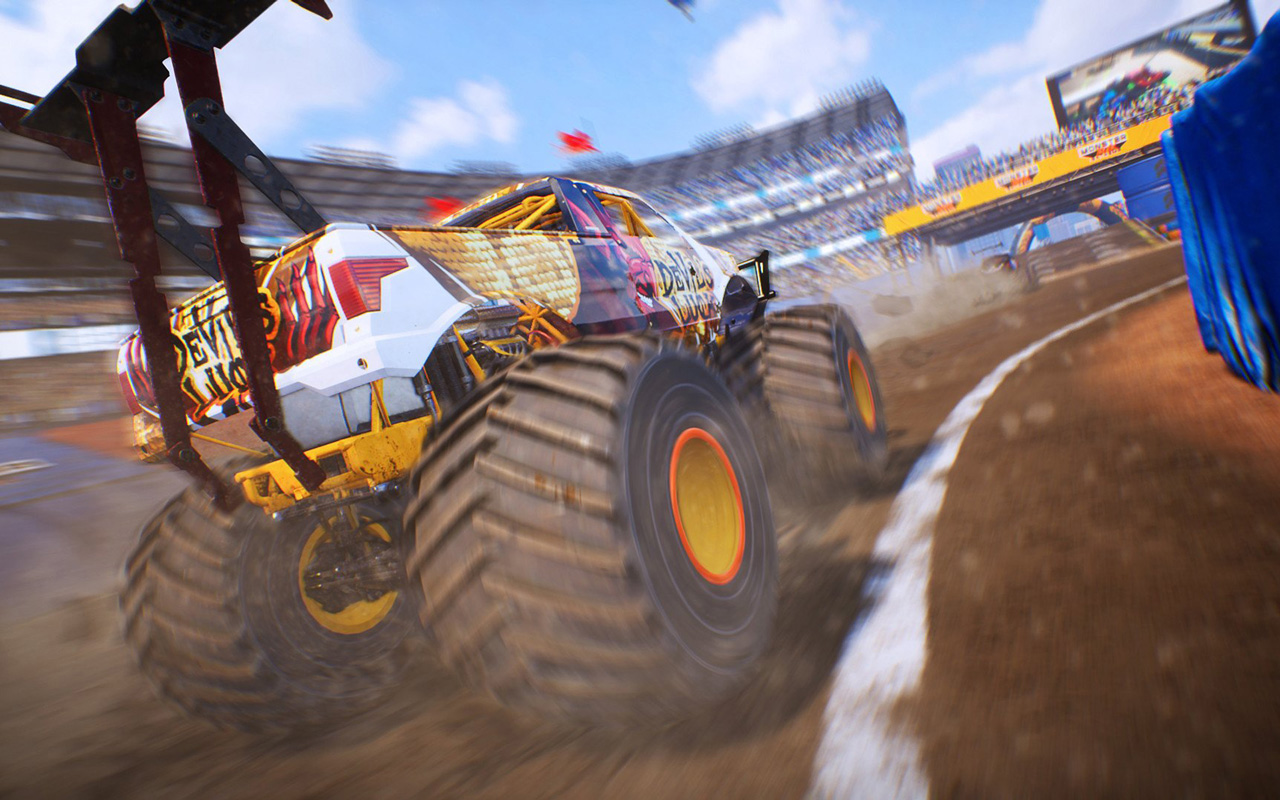 Free Monster Truck Championship Wallpaper in 1280x800