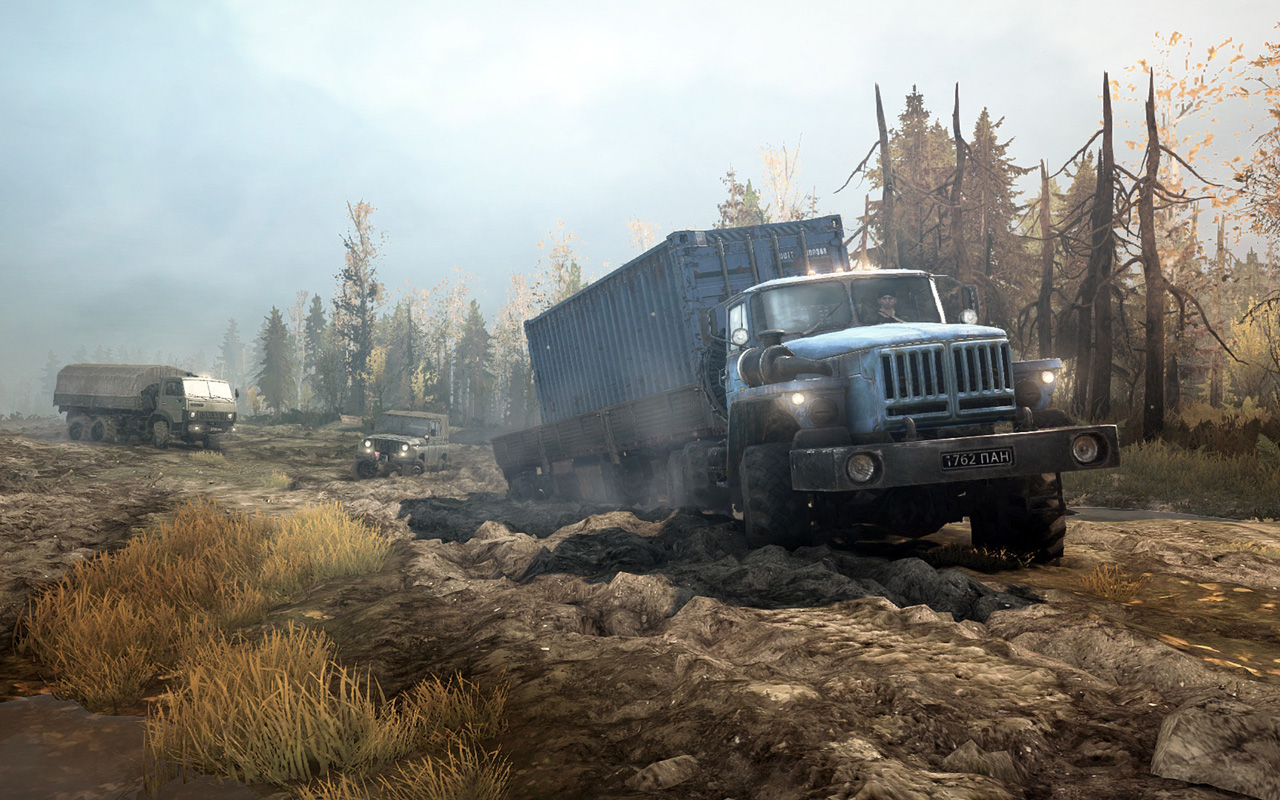 Free Spintires: Mudrunner Wallpaper in 1280x800