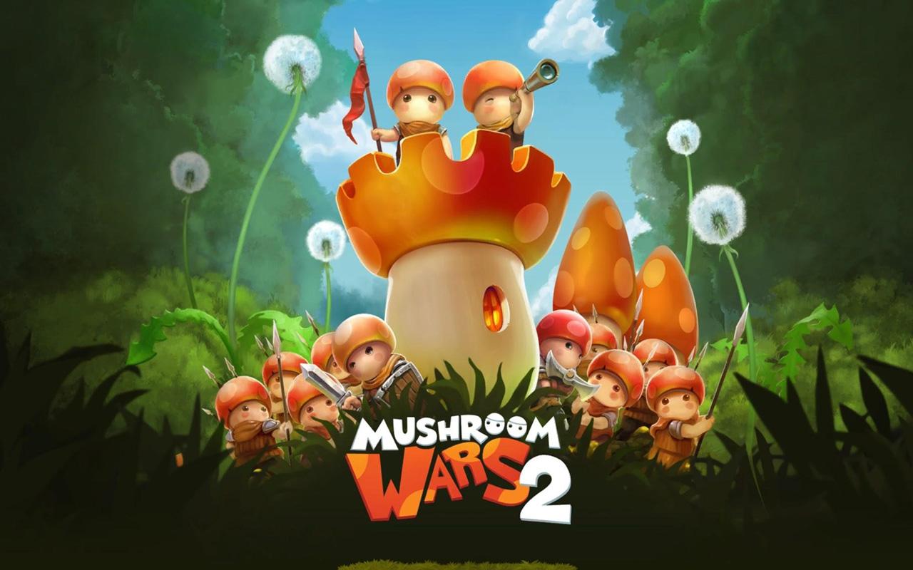 Free Mushroom Wars 2 Wallpaper in 1280x800