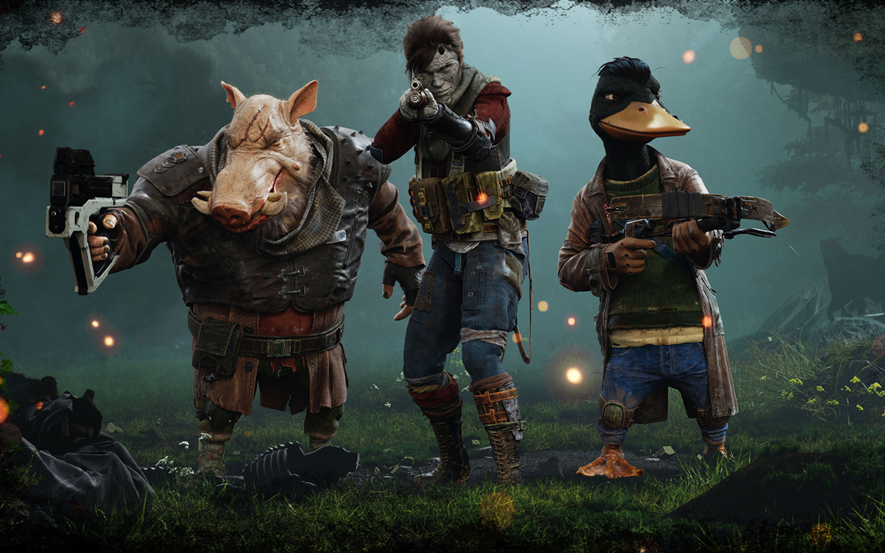 Free Mutant Year Zero: Road to Eden Wallpaper in 1280x800