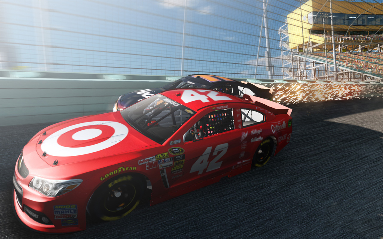 Free NASCAR The Game: 2013 Wallpaper in 1280x800