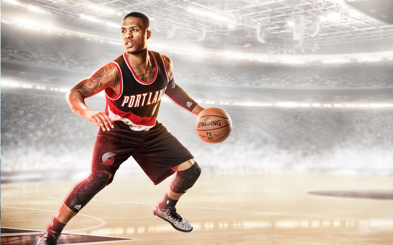 Free NBA Live 15 Wallpaper in 1280x800