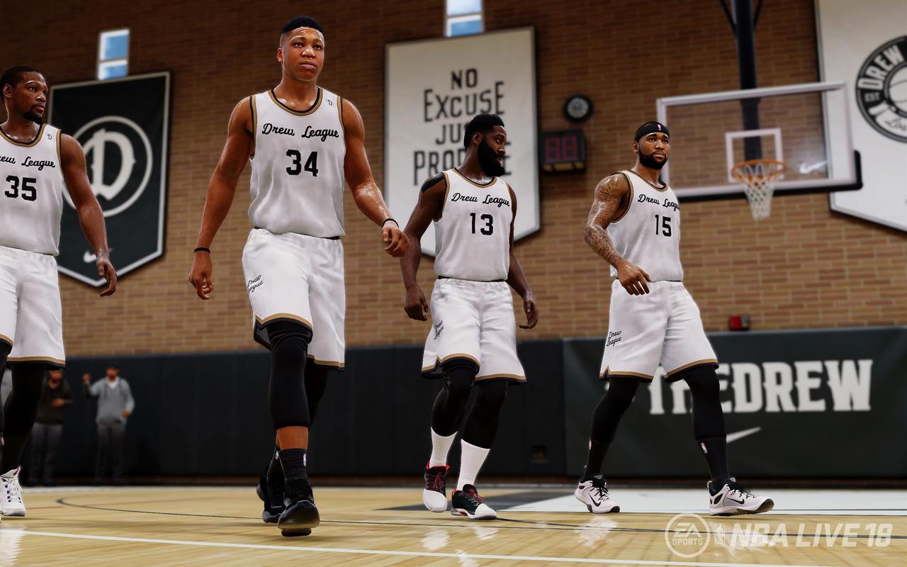 Free NBA Live 18 Wallpaper in 1280x800