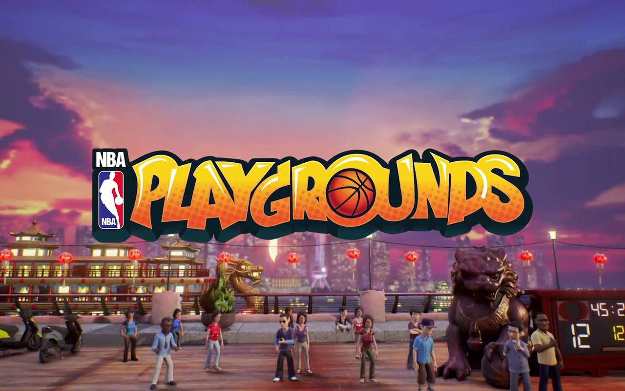 Free NBA Playgrounds Wallpaper in 1280x800