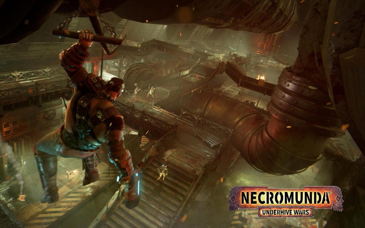 Free Necromunda: Underhive Wars Wallpaper in 1280x800
