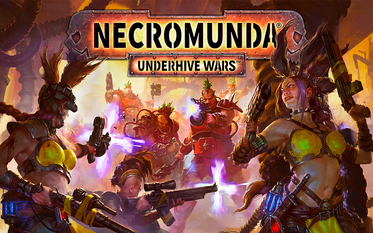 Free Necromunda: Underhive Wars Wallpaper in 1280x800