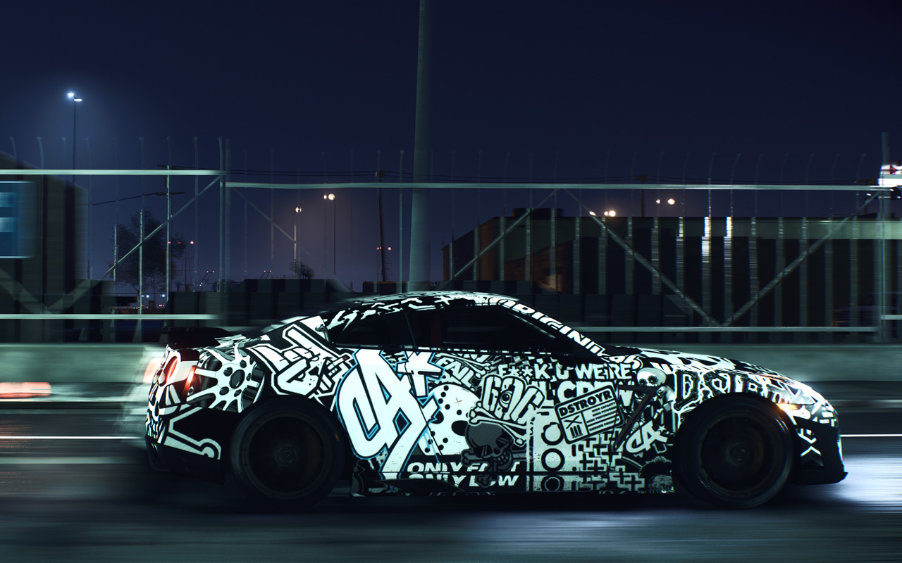 Need for Speed Wallpaper in 1280x800