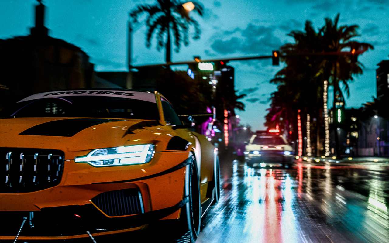 Free Need for Speed Heat Wallpaper in 1280x800