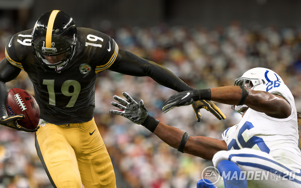 Free Madden NFL 20 Wallpaper in 1280x800