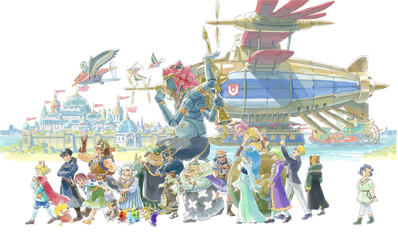 Free Ni No Kuni II: Revenant Kingdom Wallpaper in 1280x800