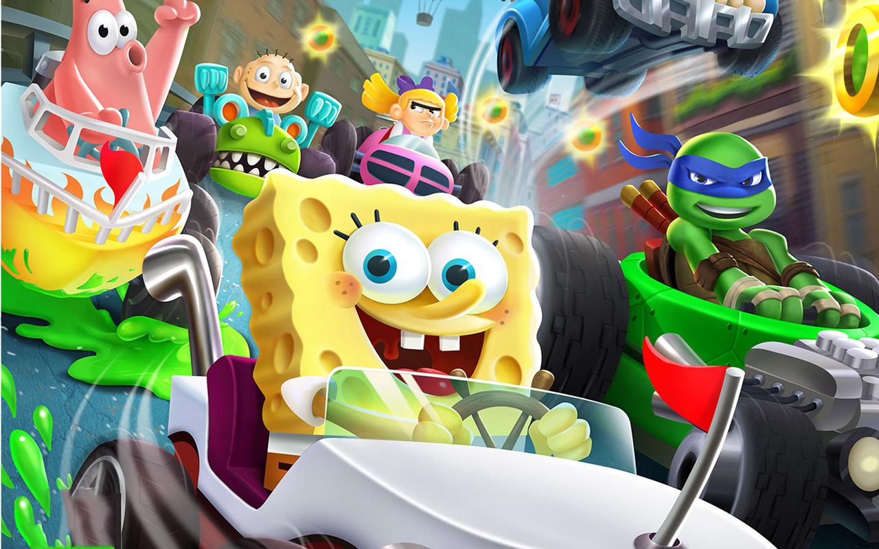 Free Nickelodeon Kart Racers Wallpaper in 1280x800