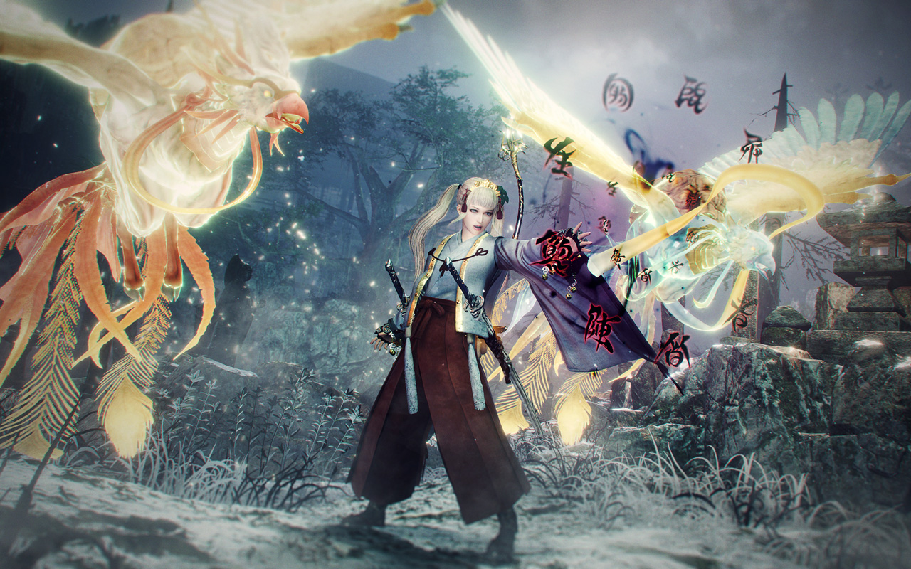 Free Nioh 2 Wallpaper in 1280x800