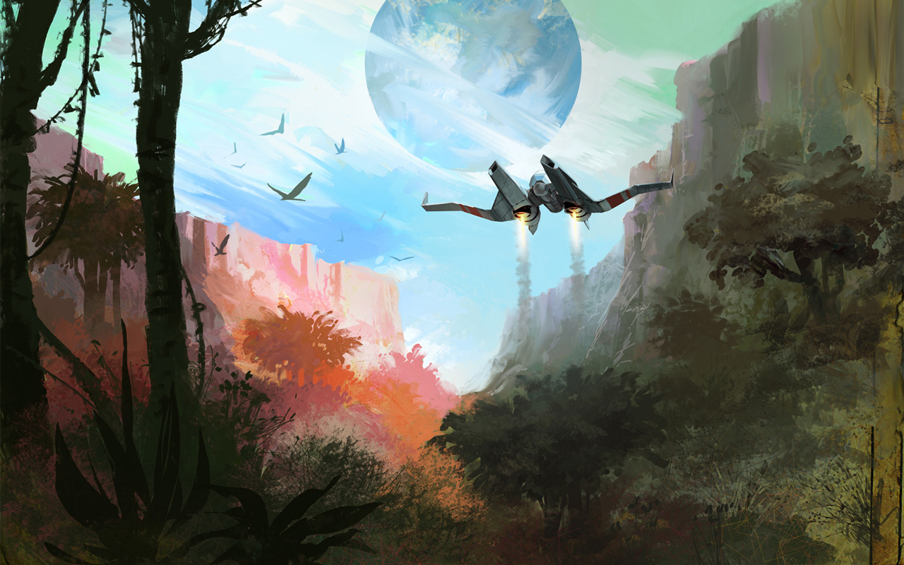 Free No Man's Sky Wallpaper in 1280x800
