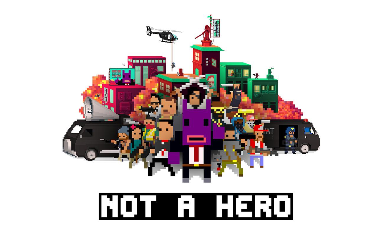 Free Not a Hero Wallpaper in 1280x800