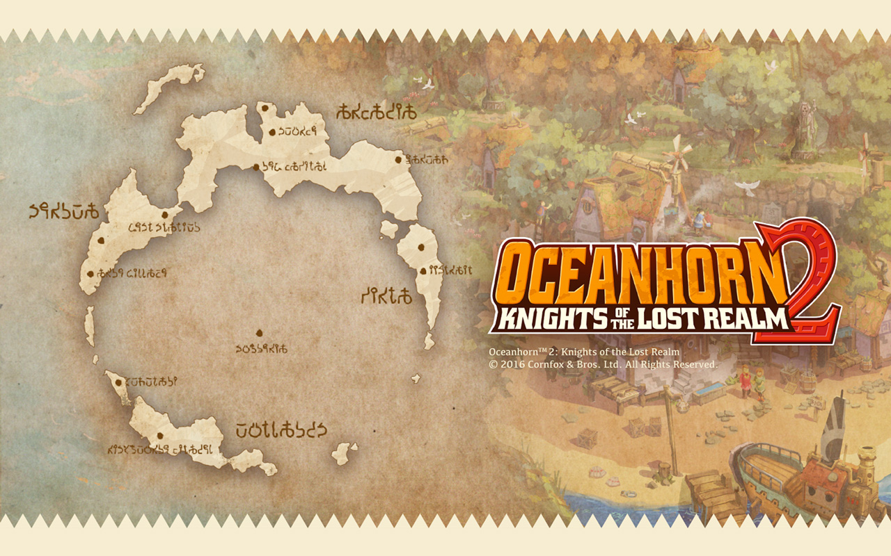 Free Oceanhorn 2: Knights of The Lost Realm Wallpaper in 1280x800