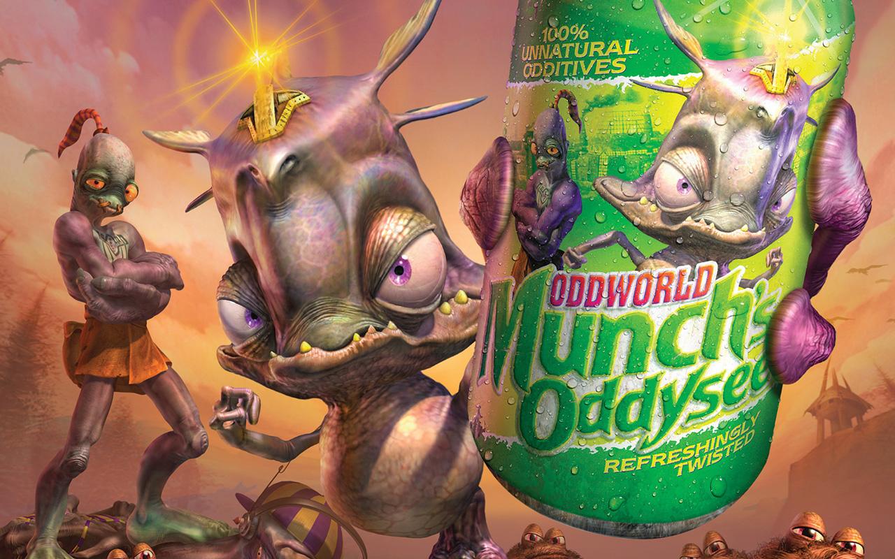 Free Oddworld: Munch's Oddysee Wallpaper in 1280x800