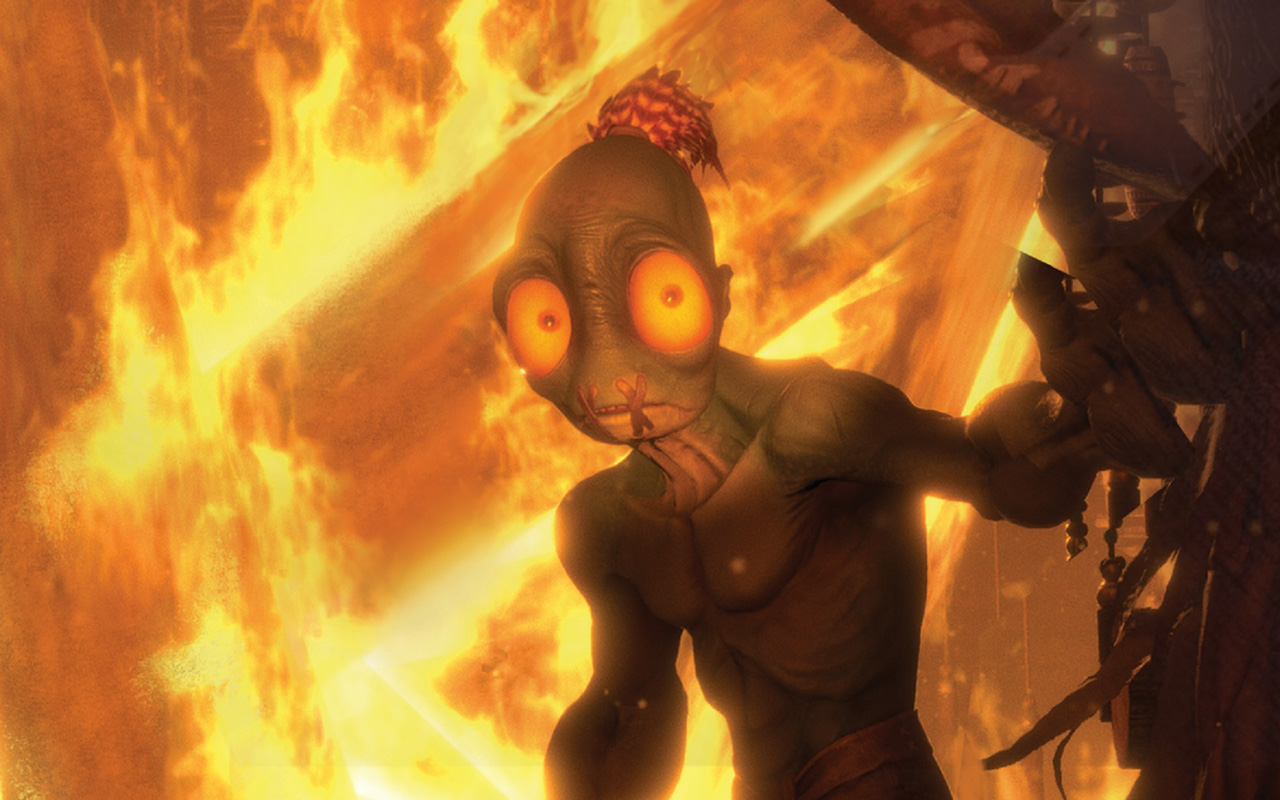Free Oddworld: Soulstorm Wallpaper in 1280x800
