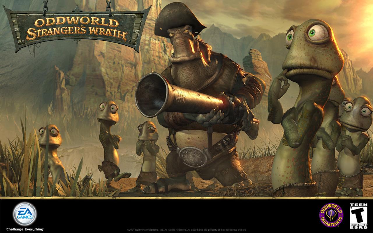 Free Oddworld: Stranger's Wrath Wallpaper in 1280x800