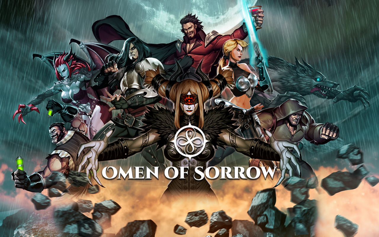 Free Omen of Sorrow Wallpaper in 1280x800