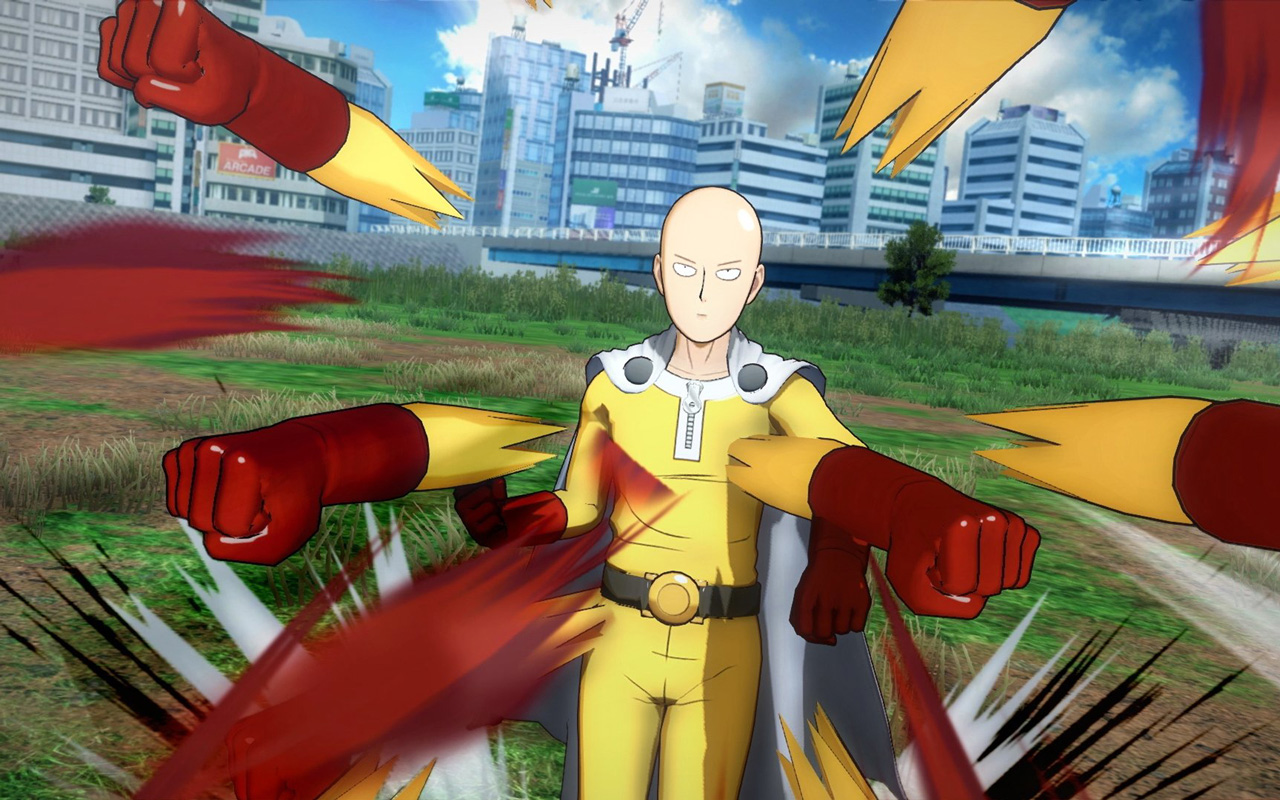 Free One Punch Man: A Hero Nobody Knows Wallpaper in 1280x800