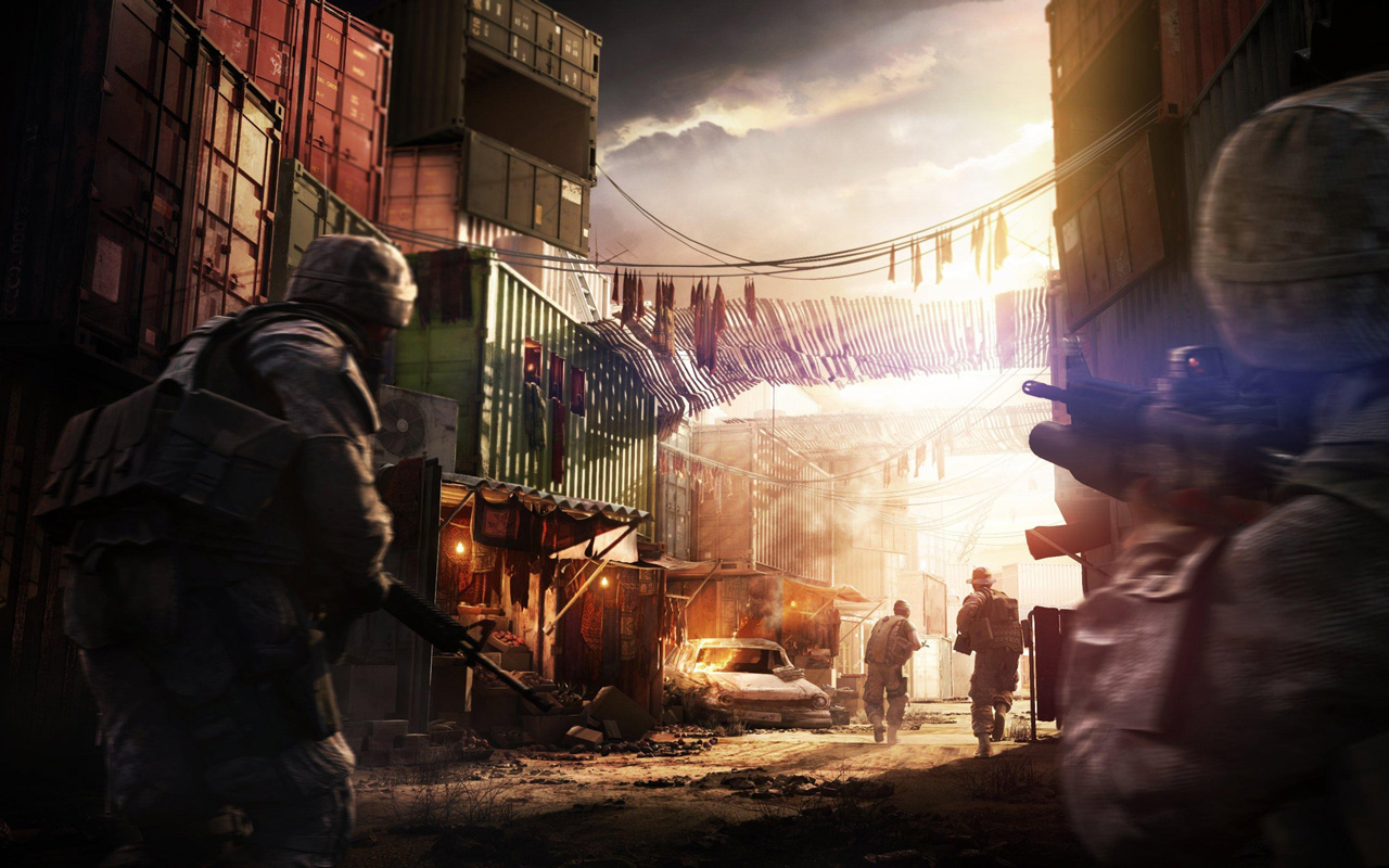 Free Operation Flashpoint: Red River Wallpaper in 1280x800