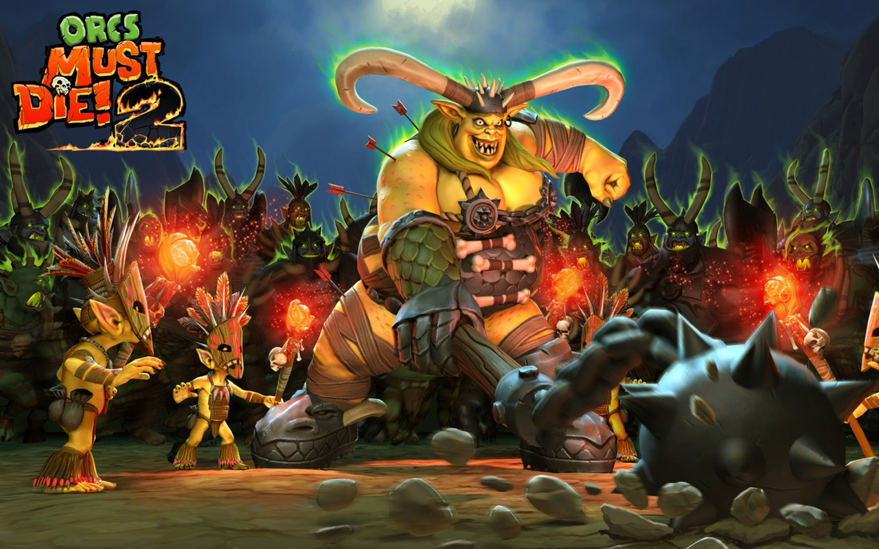 Free Orcs Must Die 2 Wallpaper in 1280x800