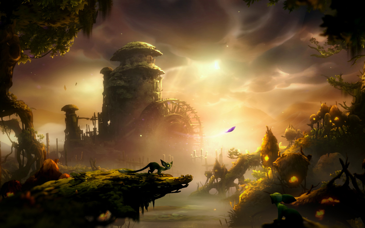 Free Ori and The Will of The Wisps Wallpaper in 1280x800