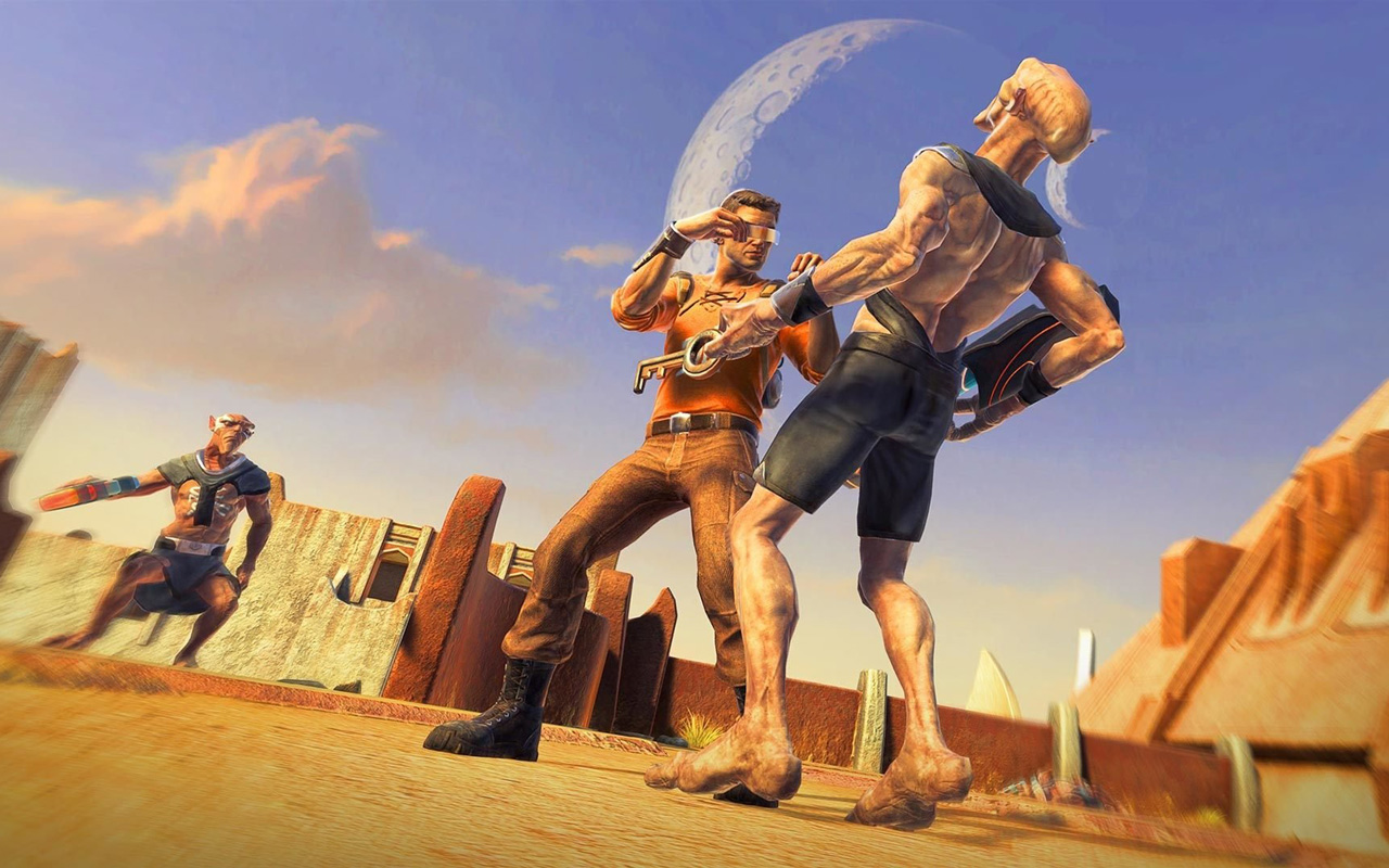 Free Outcast - Second Contact Wallpaper in 1280x800
