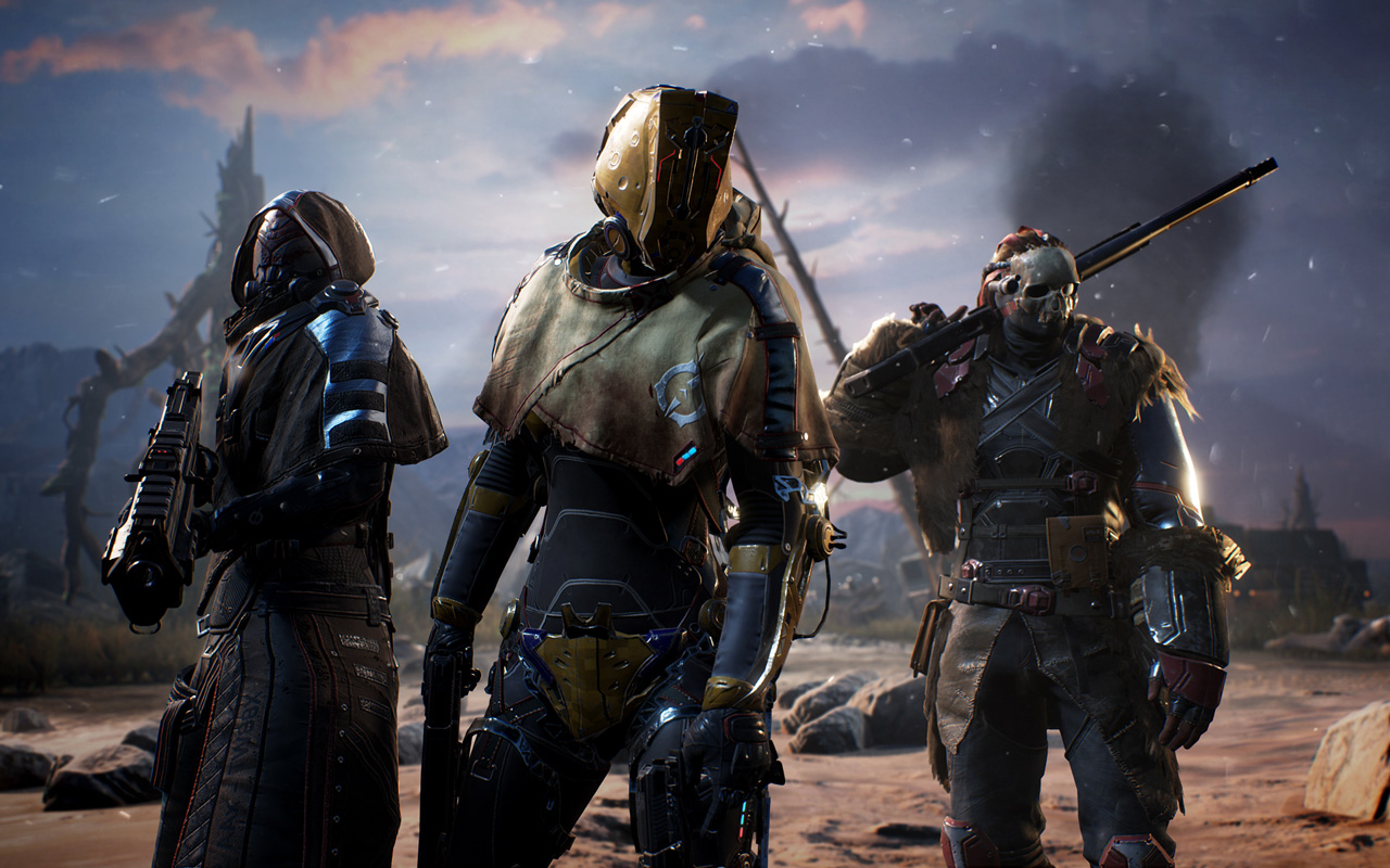 Free Outriders Wallpaper in 1280x800