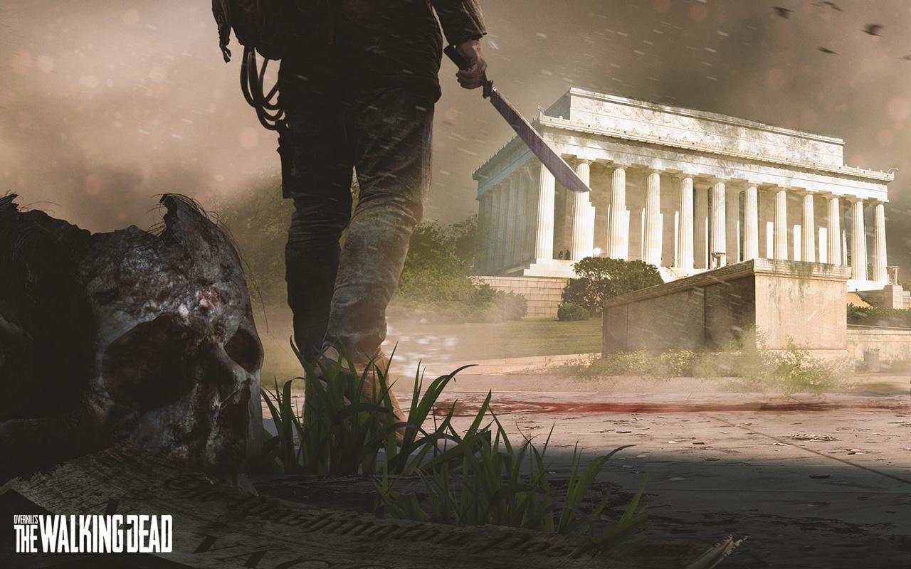 Free Overkill's The Walking Dead Wallpaper in 1280x800