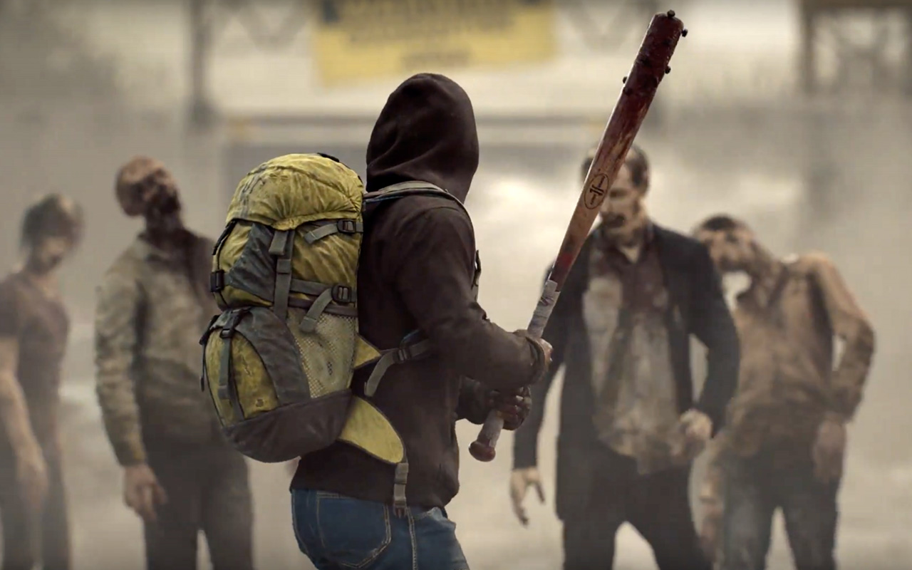 Free Overkill's The Walking Dead Wallpaper in 1280x800