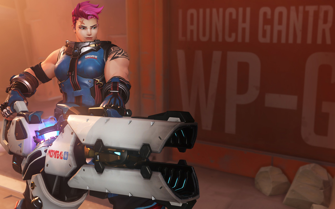 Free Overwatch Wallpaper in 1280x800