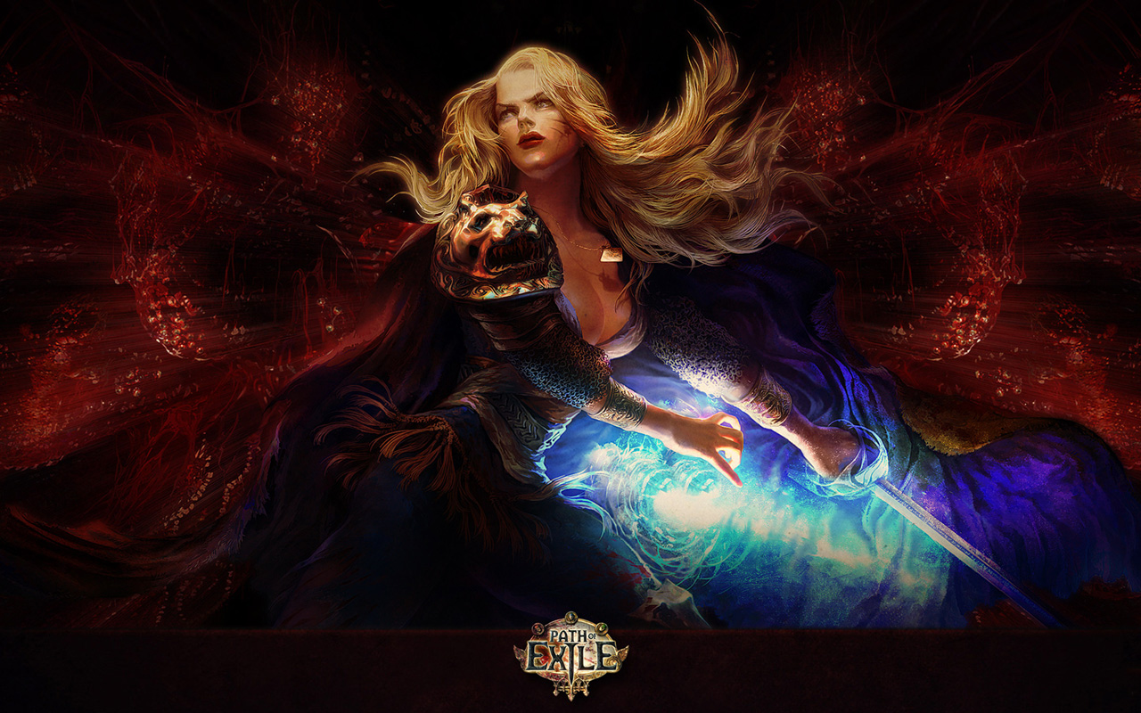 Path of Exile Wallpaper in 1280x800
