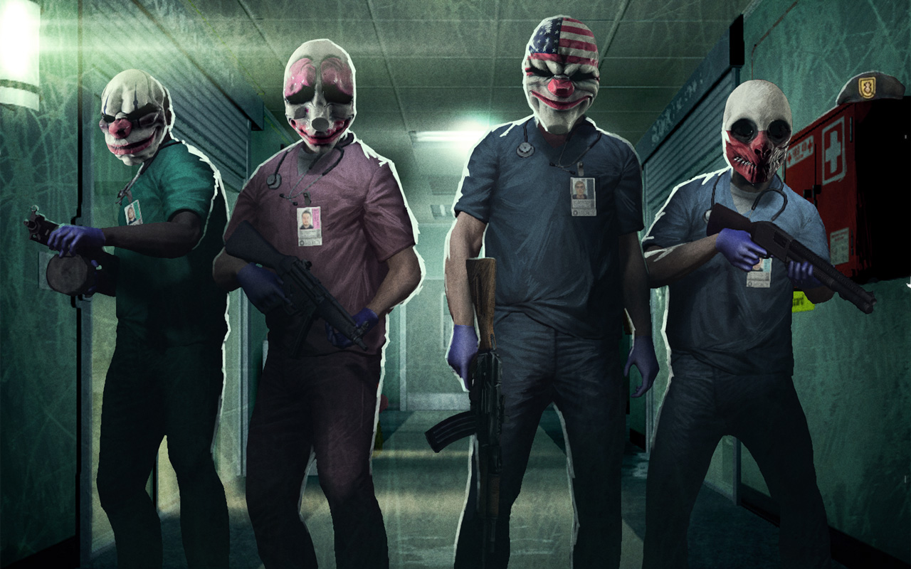 Free Payday: The Heist Wallpaper in 1280x800