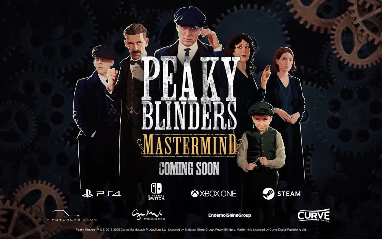 Free Peaky Blinders: Mastermind Wallpaper in 1280x800