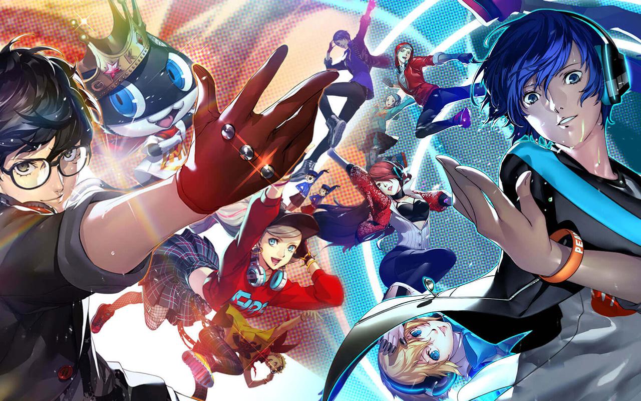 Free Persona 5: Dancing in Starlight Wallpaper in 1280x800