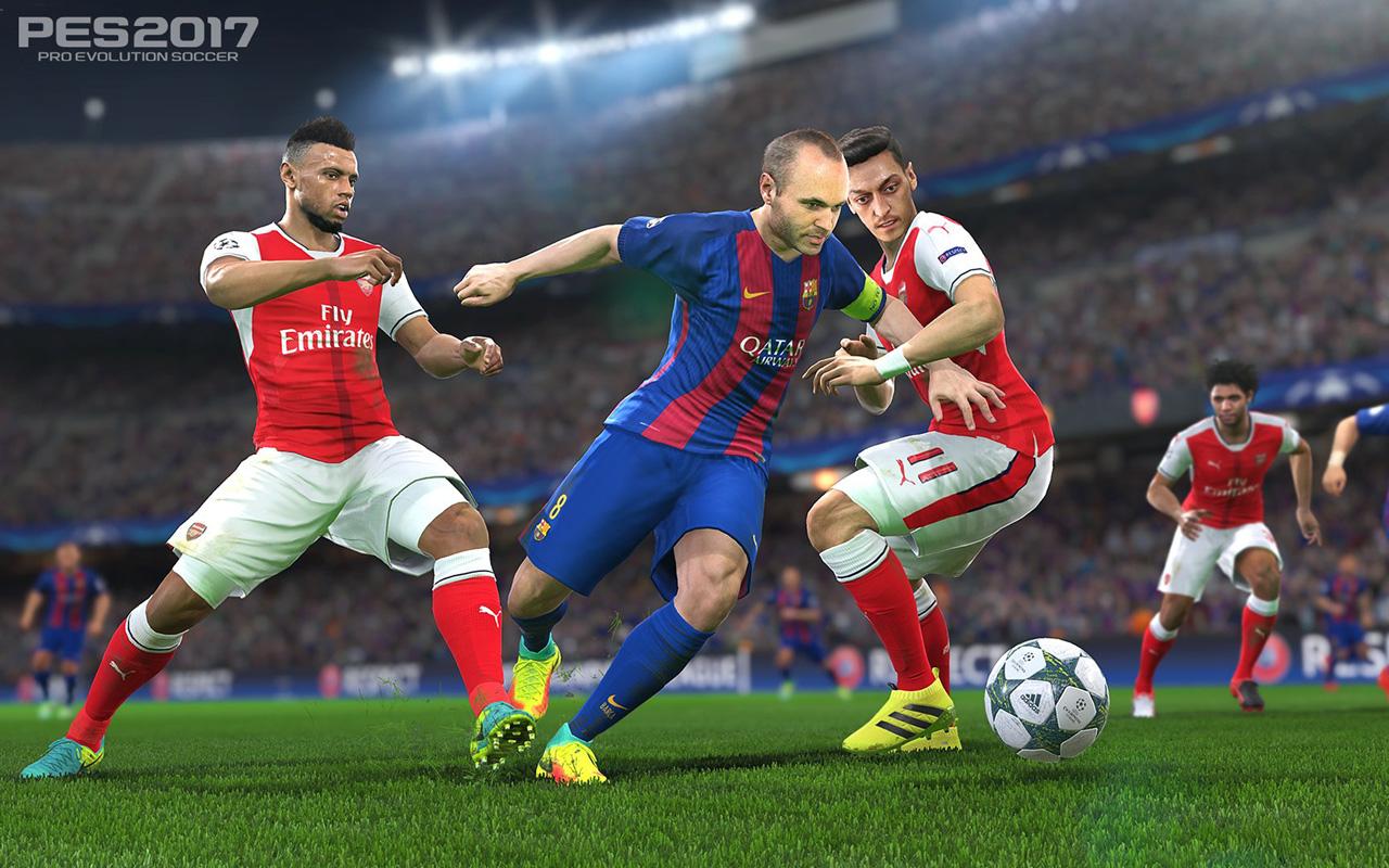 Free Pro Evolution Soccer 2017 Wallpaper in 1280x800