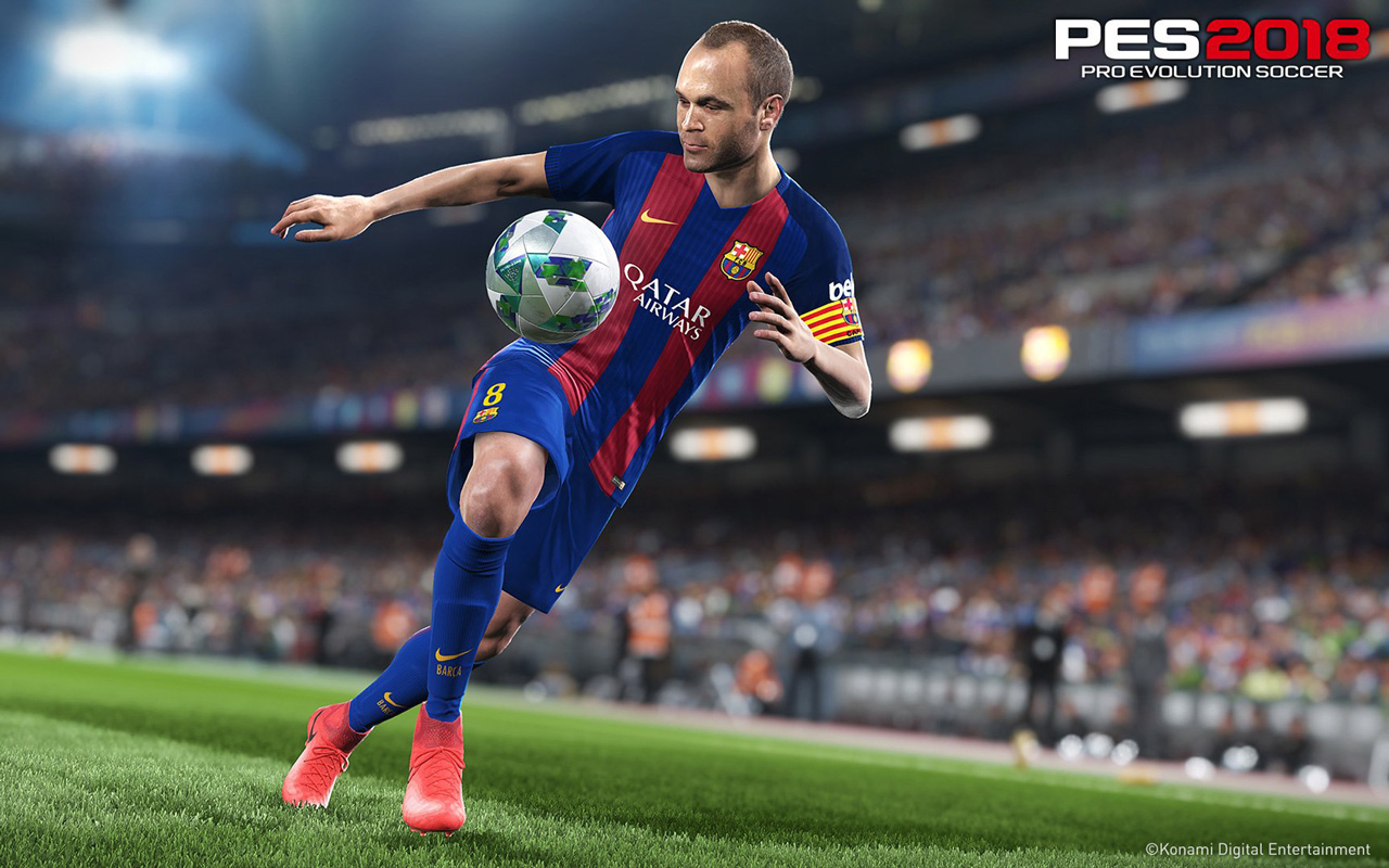 Free Pro Evolution Soccer 2018 Wallpaper in 1280x800