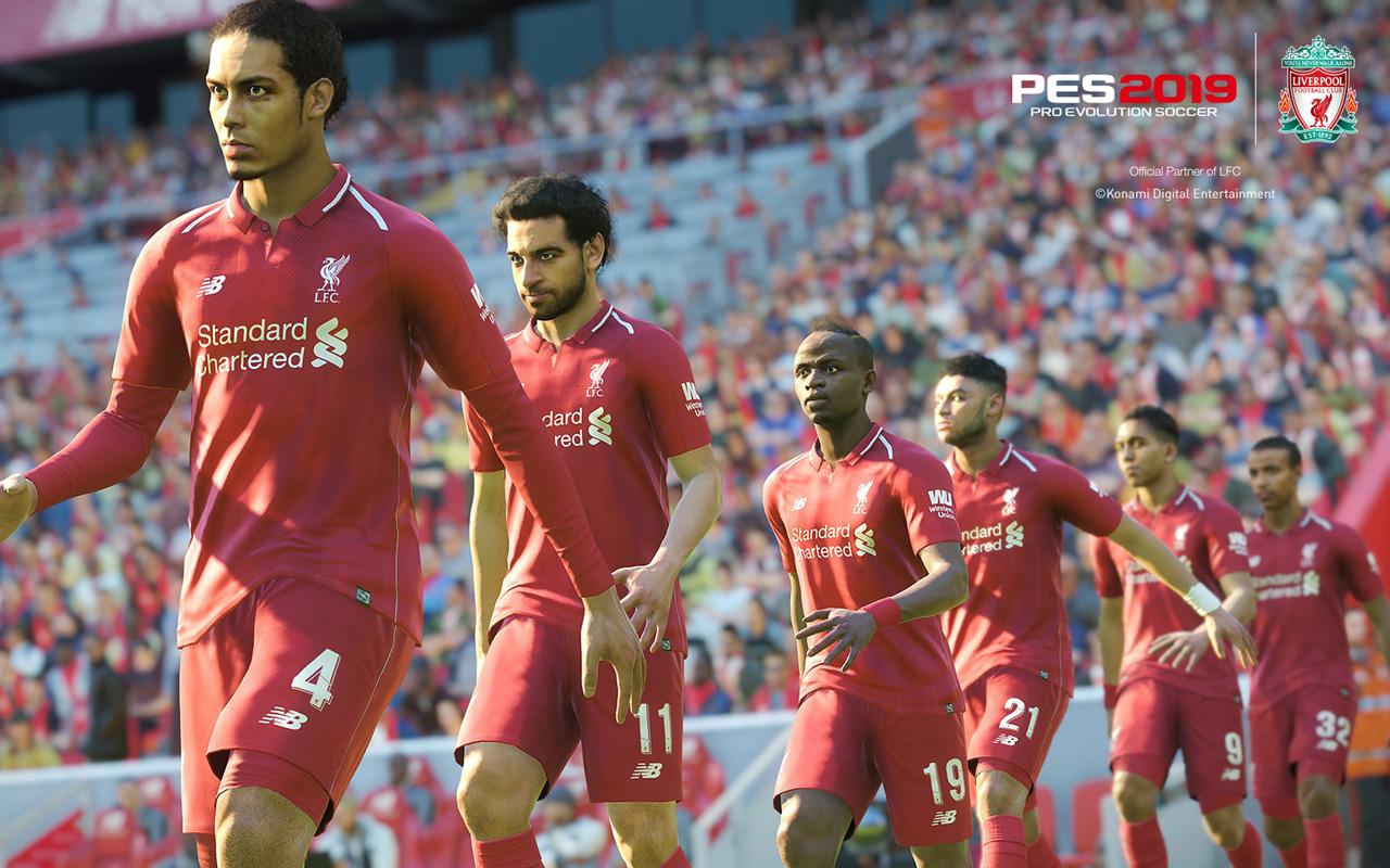 Free Pro Evolution Soccer 2019 Wallpaper in 1280x800