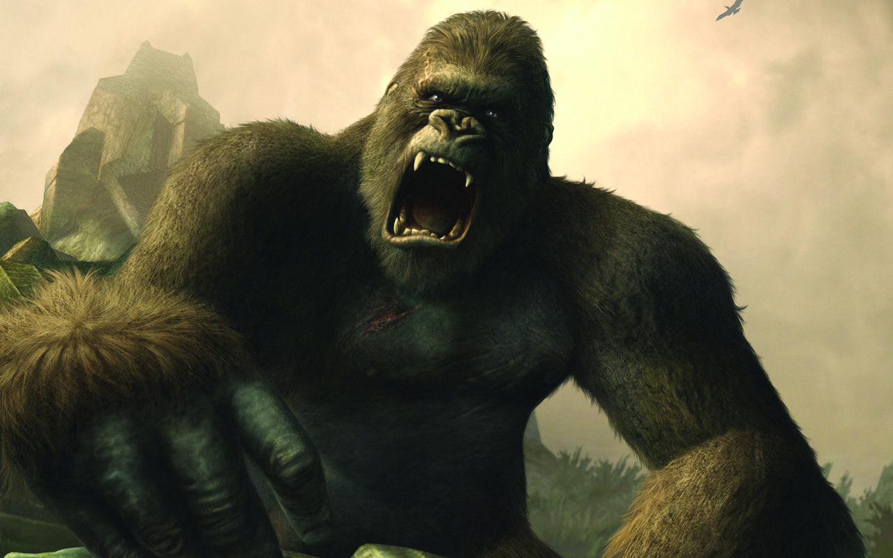 Free Peter Jackson's King Kong: The Official Game of the Movie Wallpaper in 1280x800