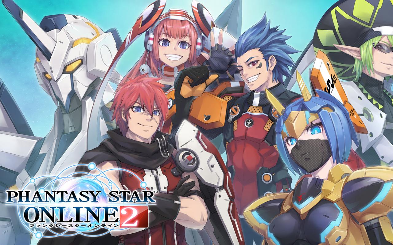 Free Phantasy Star Online 2 Wallpaper in 1280x800